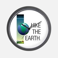 TOP Hike the Earth Wall Clock