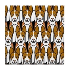 Ibizan Hounds Tile Coaster