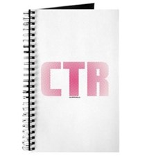 CTR Half Tone Pink Journal