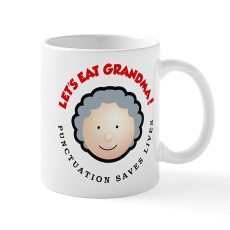 Punctuation saves lives Mug