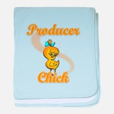 Producer Chick #2 baby blanket