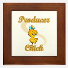 Producer Chick #2 Framed Tile