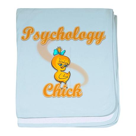 Psychology Chick #2 baby blanket