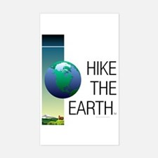 TOP Hike the Earth Sticker (Rectangle)