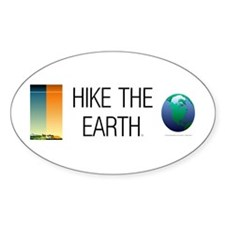 TOP Hike the Earth Decal