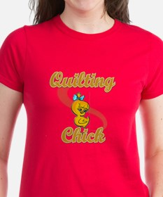 Quilting Chick #2 Tee