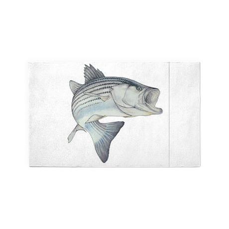 stripe bass 3'x5' Area Rug