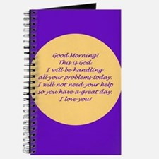 Good Morning from God Journal