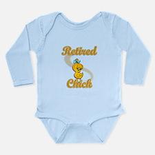 Retired Chick #2 Long Sleeve Infant Bodysuit