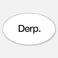 Derp. Decal