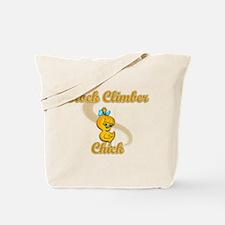 Rock Climber Chick #2 Tote Bag