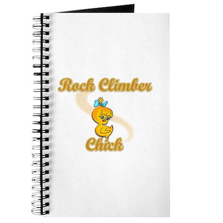 Rock Climber Chick #2 Journal