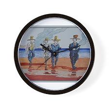 Billy Boys by Pat Wall Clock