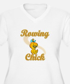 Rowing Chick #2 T-Shirt
