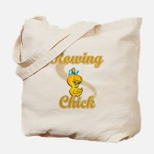 Rowing Chick #2 Tote Bag