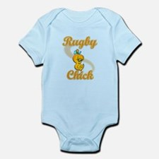 Rugby Chick #2 Infant Bodysuit