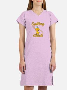 Sailing Chick #2 Women's Nightshirt