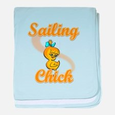 Sailing Chick #2 baby blanket
