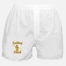 Sailing Chick #2 Boxer Shorts