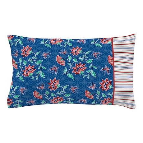 Aiyana Floral Batik Stripes Pillow Case