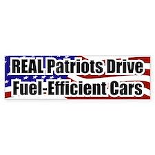 REAL Patriots... Bumper Bumper Sticker