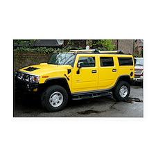 Hummer 4x4 vehicle - Car Magnet