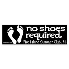 """No Shoes Required """"Fire Island SUmmer Club"""""""