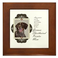 Pointer Mom Framed Tile