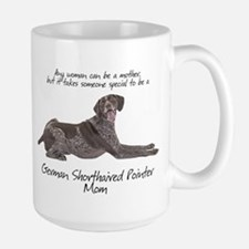 Pointer Mom Large Mug