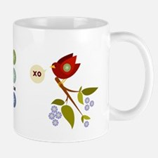 XO Birdies Mug (winter, spring)