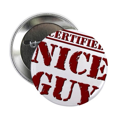 "Nice Guy 2.25"" Button (100 pack)"