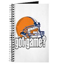 Got Game? Football Helmet Journal