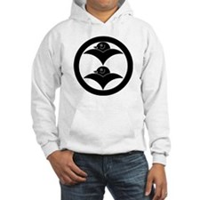 Two wild geese in circle Hoodie