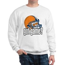 Got Game? Football Helmet Sweatshirt