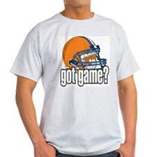 Got Game? Football Helmet Ash Grey T-Shirt