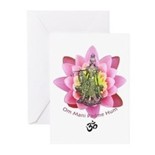 Kuan Yin Mantra Greeting Cards (Pk of 10)