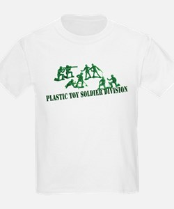 Plastic Toy Soldier Division Kids T-Shirt