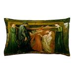 Dantes Dream by Rossetti Pillow Case