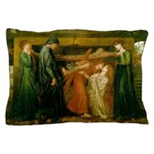 Dantes Dream by Rossetti Pillow Case