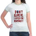Don't Blame Me Anti-Obama Jr. Ringer T-Shirt