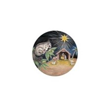 At the Manger Mini Button (10 pack)