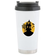 Scary ghost house Travel Mug