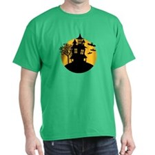 Scary ghost house T-Shirt
