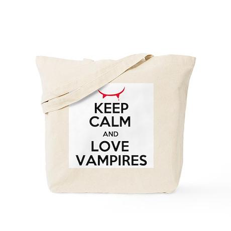 Keep Calm and Love A Cullen Tote Bag