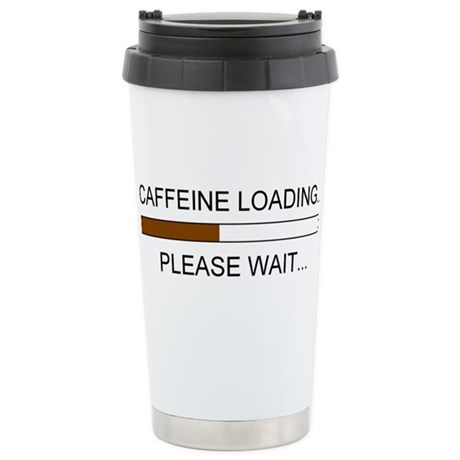 Caffeine Loading Stainless Steel Travel Mug