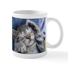 Sleeping kitten 3 Mug