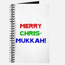 Merry Chrismukkah Journal