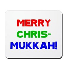 Merry Chrismukkah Mousepad