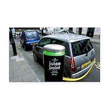 Recharging electric cars - Car Magnet