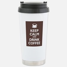 Keep calm and Drink Coffee Travel Mug
